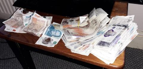 Eight arrests and £15,000 cash seized in south London operation targeting drugs and violence