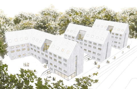 Wästbygg AB bygger unika Lefflers park i Göteborg