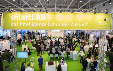 Labvolution 2019 in Hannover