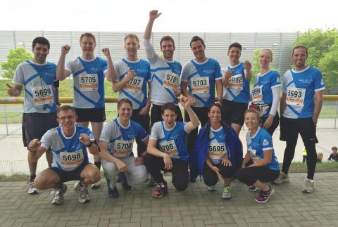 B2RUN: Allgeier Company Team macht Station in Düsseldorf