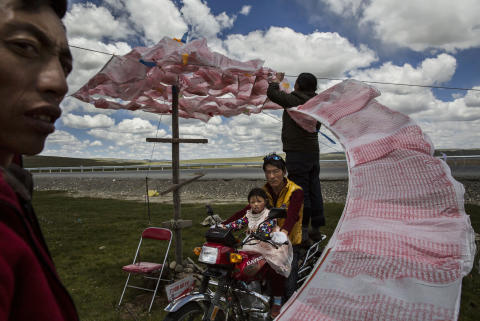 Nomadic Life Threatened on the Tibetan Plateau, fot. Kevin Frayer