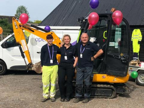 Back To School in Cambridgeshire as Openreach Inspires Future Engineers