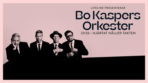 """Bo Kaspers Orkester förlänger turnén """"23:55 – Hjärtat håller takten"""""""