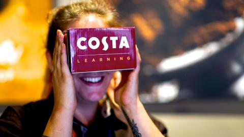 COSTA COFFEE TRAINS NEXT GENERATION OF BARISTAS USING VIRTUAL REALITY