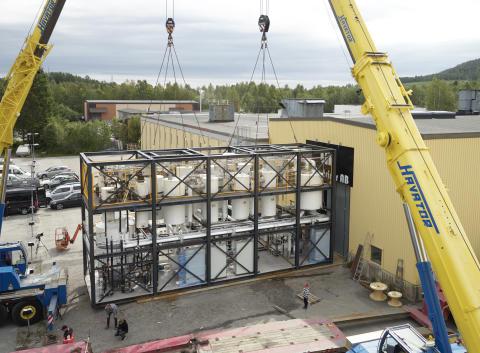 Hydrotermisk karbonisering hos Stora Enso i Heinola – löser slamproblem, spar bränsle och minskar växthusgasutsläpp