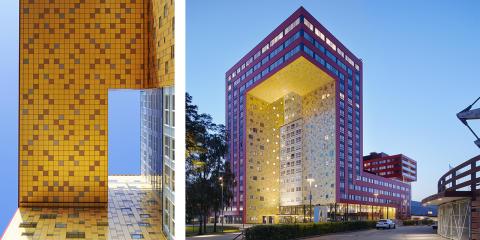 Icon Växjö nomineras till stadens eget byggnadspris