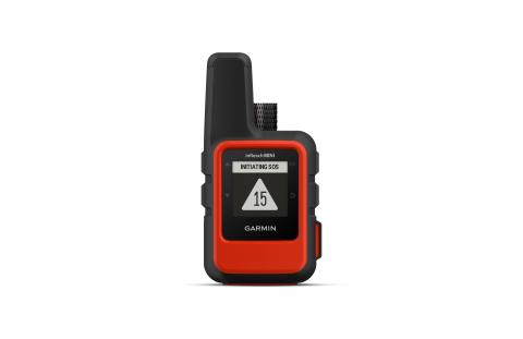 Garmin inReach Mini orange front