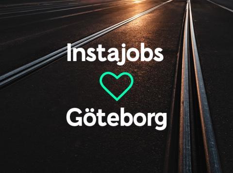 Instajobs till Göteborg