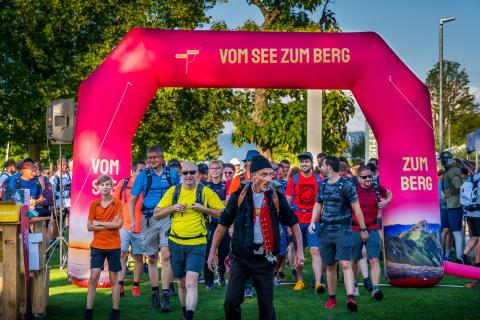 """Eventbild 2020 """"Vom See zum Berg"""""""