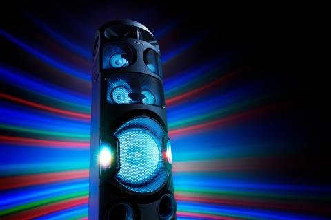 Nouveaux systèmes audio High Power Sony : la fête jusqu'à en perdre la tête
