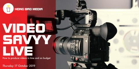 Video Savvy LIVE | How to produce videos in time and on budget