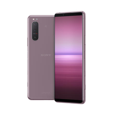 Xperia 5 II_front_back_group_pink