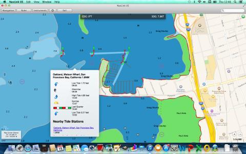 NavLink MAC screenshot