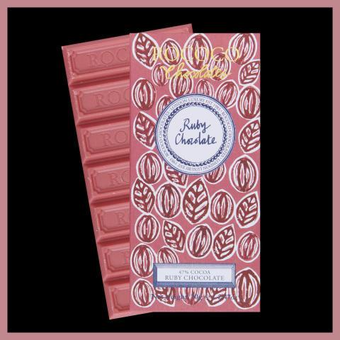 Rococo Chocolate lanserar Ruby-choklad