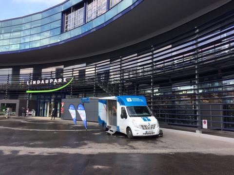 Beratungsmobil der Unabhängigen Patientenberatung kommt am 12. November nach Lindau.