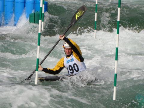 German Masters im Kanu-Slalom im Kanupark Markkleeberg