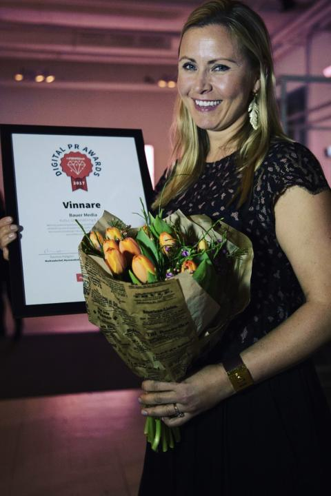 Maja Thomhave Digital PR Awards