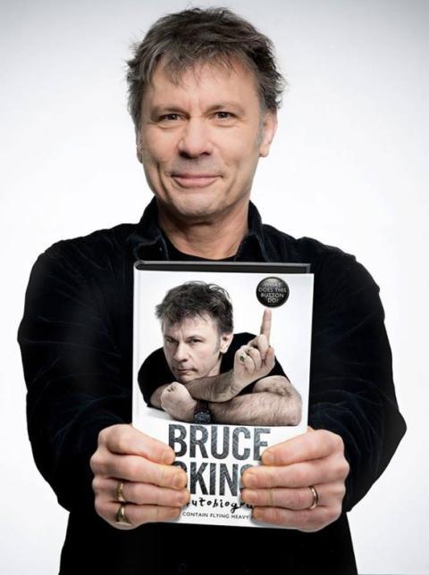 Världsstjärnan Bruce Dickinson live i Rockklassiker