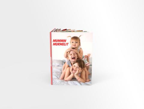 Kuvakirja mummille lapsista