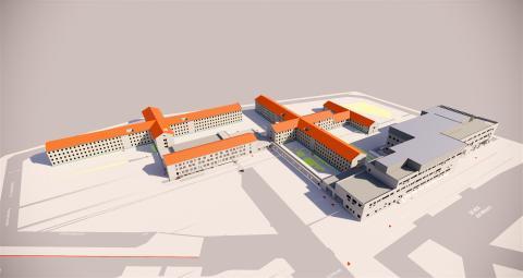 ZÜBLIN and BAM Deutschland consortium deliver the new JVA Willich I