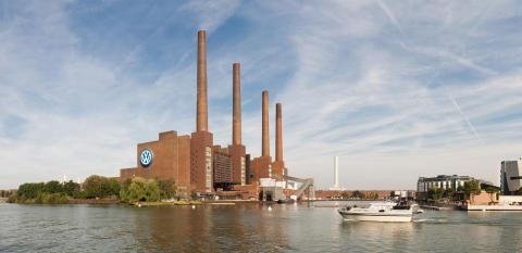 2. Platz Volkswagen-Werk