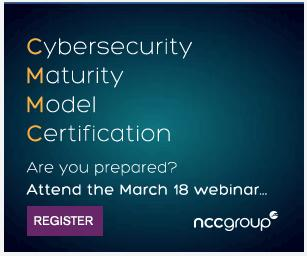 Webinar: Preparing for the Cybersecurity Maturity Model Certification