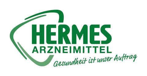HERMES ARZNEIMITTEL OTC Wortbildmarke mit Claim
