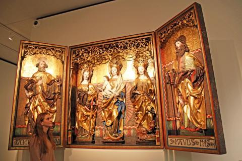 Sensationeller Erwerb: Callenberger Altar nach 150 Jahren wieder vollständig im GRASSI Museum für Angewandte Kunst