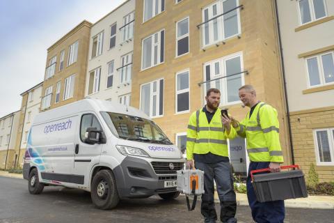 Engineers with van (2)