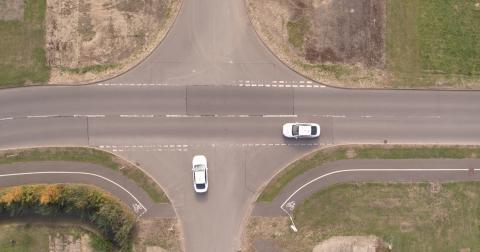 Autodrive Rødt lys sammenkoblede biler 2018