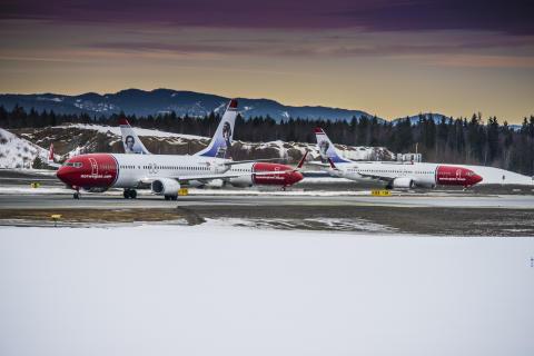 Norwegian med fortsat passagervækst og højere belægning i januar