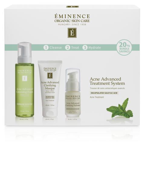 Acne Advanced Treatment System Box