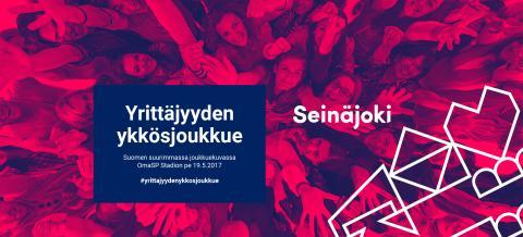 Tulossa Seinäjoella: Suomen suurin yrittäjien ryhmäkuva