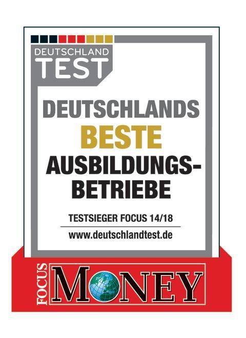 Siegel: Deutschlands beste Ausbildungsbetriebe 2018