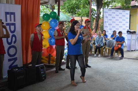 Epson gives back to community, spreads cheer to Bahay Tuluyan Home for the Girls