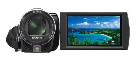Handycam DCR-SX65E von Sony_Schwarz_01