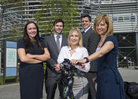 Business students wheel-out expertise to guide bike hire business on route to growth