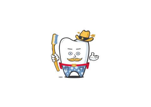Zahnheld Cowboy Kai