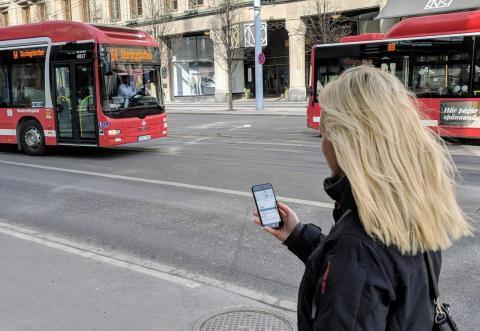 Ny digital tjänst för skräddarsydda resor testas i Stockholm