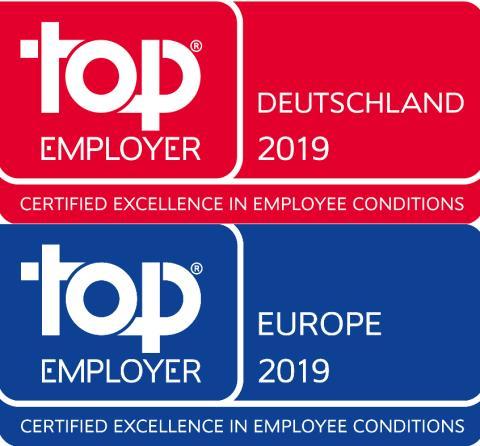 Top Employer Award:  Santander erhält Auszeichnung für Deutschland und Europa