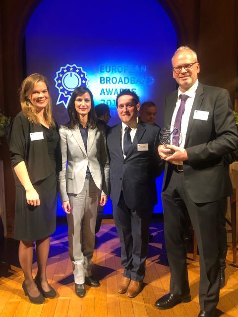 Telia och Sunnes projekt prisas i Europa