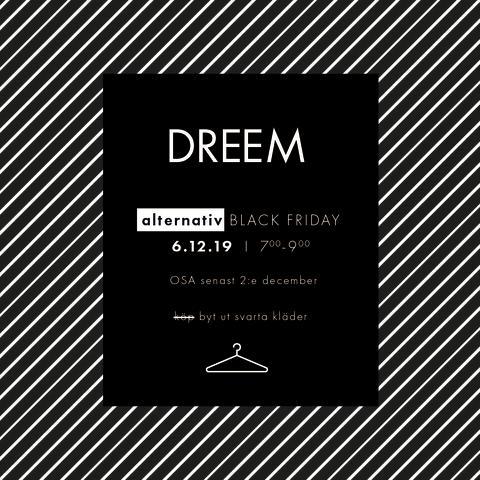 Missa inte Dreems alternativa Black Friday 6/12