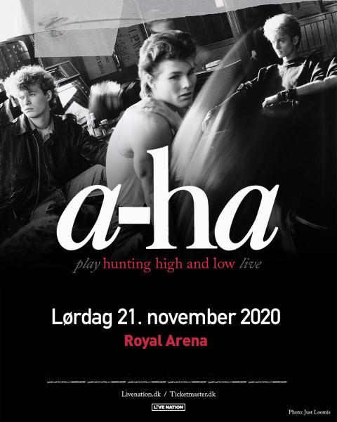 "a-ha ""Hunting High & Low Tour 2020"" i Royal Arena 21. november 2020"