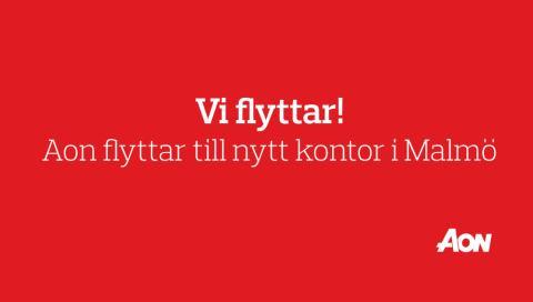 Aon flyttar till nytt kontor i Malmö