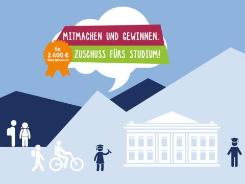 Kopf frei fürs Studium: 2.400 Euro Zuschuss bei Eröffnung eines Studentenkontos gewinnen