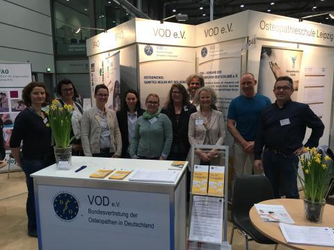 therapie Leipzig: Sonderschau Osteopathie ein voller Erfolg