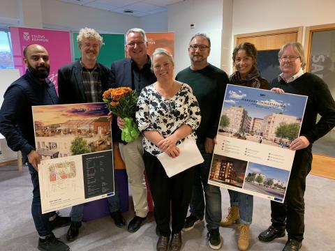 Vinnare markanvisningstävling i Eslöv