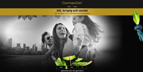 Cosmopolitansallaten har nu fått en egen hemsida! Där  kan ni följa Cosmopolitansallaten i sociala medier, ta del av inspirerande recept och i framtiden kommer ni att kunna delta i tävlingar där ni kan vinna helt otroliga priser!