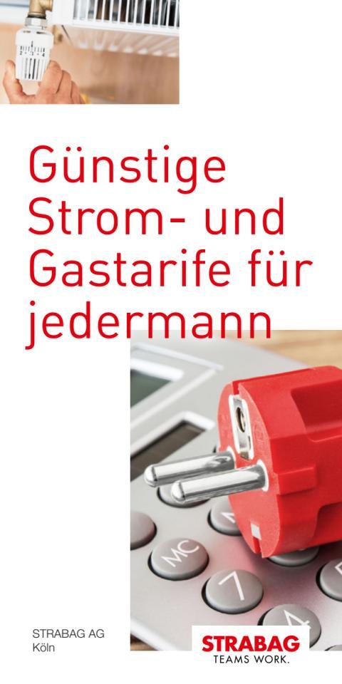 STRABAG AG - Günstige Strom- und Gastarife für jedermann