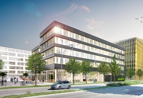 Visualisierung JobRad-Firmensitz